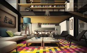 living room small modern contemporary stylish living room with