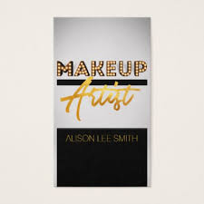 gifts for makeup artists makeup artist business card makeup artist gifts style stylish