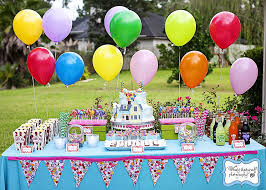 how to decorate birthday table party table decorating ideas how to make it pop