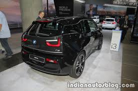 2018 bmw i3s rear three quarters at iaa 2017 indian autos blog