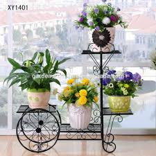 plant stand wrought iron flower cart cute plant stand potder