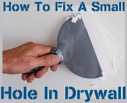 Repair Ceiling Hole how to fix a small hole in drywall from 1 2 to 5 inch hole