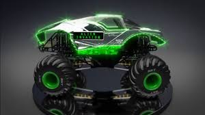 bigfoot 5 monster truck toy image alien invasion jpg monster trucks wiki fandom powered