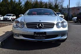mercedes benz silver lightning interior 2003 mercedes benz sl 500r pre owned