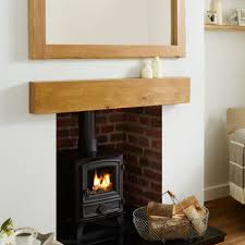 oak beam capri kiln dried rustic solid french mantel