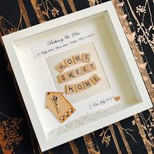 First Home Housewarming Gift by New Home Frame Personalised New Home Frame First Home Gift New
