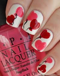 9 adorable nail designs for valentine u0027s day crown braids nail