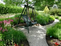 i like the nook for a swing along the path stop and enjoy the