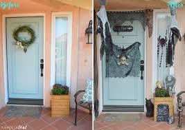 Halloween Decorations For Front Door Spooky Halloween Front Door Budget Finds For Under 1