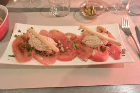 la cuisine des anges starter tomatoes style with tuna picture of la cuisine