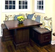 breakfast table with storage dining bench with storage diaz2009 com