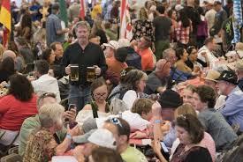 oktoberfest crowd embraces german culture frederick