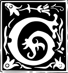 decorative letter set g clip art at clker com vector clip art