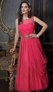 party wear gowns buy party wear net gowns online shopping heenastyle fh497876166