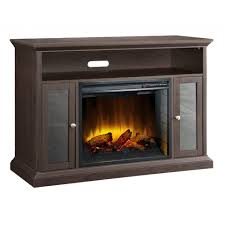 shop electric fireplaces at lowes also lowes tv stand with