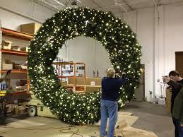 gorgeous 3ft 90cm large festive garage door christmas wreath item