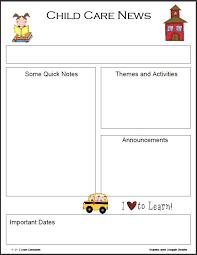 best 25 monthly newsletter template ideas on pinterest parent