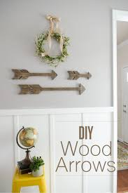 how to make home decor crafts how to make wood arrows tutorial wood arrow mantel shelf and arrow
