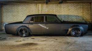 velvet rolls royce evil rolls royce silver shadow drift car selling for 130k