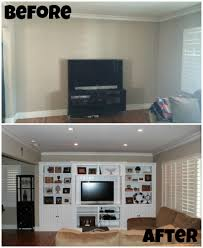 design your own home entertainment center home update built in entertainment center chic runner