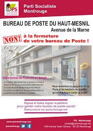bureau de poste montrouge non à la fermeture du bureau de poste du haut mesnil site officiel