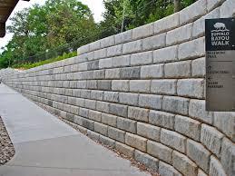 fresh n concrete wall design example wood retaining wall design