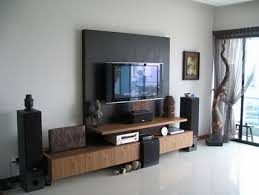 Wall Mounted Living Room Furniture Wall Mounted Tv Furniture In Small Living Room Design Ideas Big