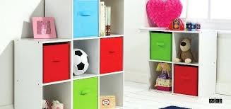 Childrens Storage Ottoman Storage Post Garden City Kids Bedroom Storage Cube System White