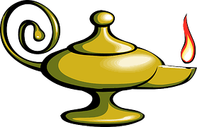 free photo genie lamp magic magical wishes free image on