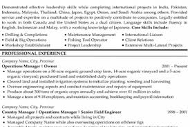 Oil Field Resume Samples by Oilfield Resume Examples Or On The Image To View This Example Of