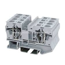china utl grey 2 way spring terminal block connector from wenzhou