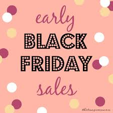 black friday pink early black friday sales guide