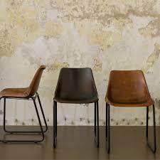 sturdy retro chair brown leather sissy boy homeland