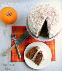 frugal foodie mama pumpkin spice latte layer cake