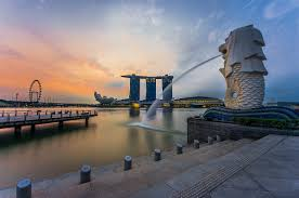 singapore lion merlion