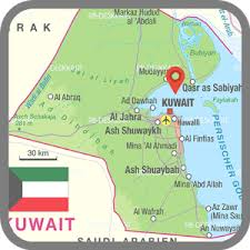 kuwait on a map kuwait map android apps on play