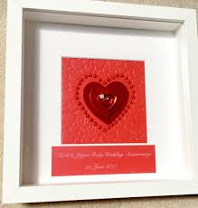 wedding gifts wedding 40th rubyrsary frame wedding gift box traditional for