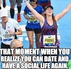 Running Marathon Meme - 24 running memes that will make you lol she can she did