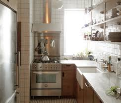kitchen furniture nyc a small new york city apartment kitchen is made light bright