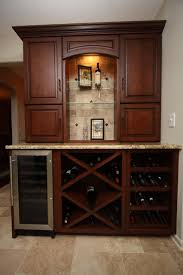 wine kitchen cabinet wine cabinet traditional kitchen cleveland by architectural