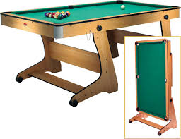 5ft Folding Pool Table Fold Up Pool Table Table Designs