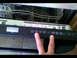 kenmore elite dishwasher blinking light control board fix youtube