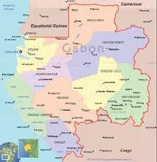 gabon in world map map of gabon travelsmaps