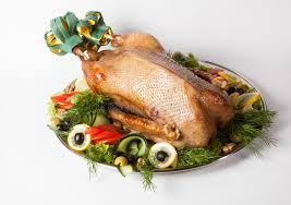 whole cooked turkey whole prepared turkey stock image image of cooked traditional