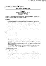 Example Of General Resume by Marvelous Duties Of A Bookkeeper Resume 93 For Example Of Resume