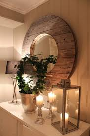Wood Mirror Frame Best 25 Round Wall Mirror Ideas On Pinterest Large Round Wall