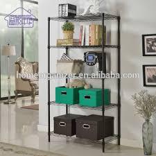 5 Tier Wire Shelving by Industrial Grade Steel Storage Shelves Portable 5 Tier Black Metal