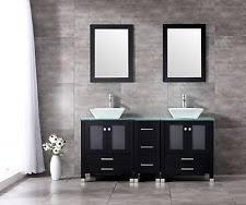Solid Wood Bathroom Vanities Solid Wood Bathroom Vanity Ebay