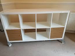 Ikea Kallax Shelving Unit Gloss High Gloss White Ikea Kallax Shelving Unit Storage With Castors