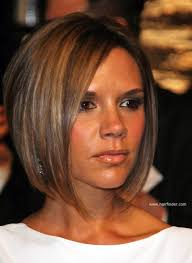 hair finder short bob hairstyles victoria beckham longer in the front bob with a stacked nape